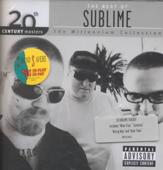 20TH CENTURY MASTERS:MILLENNIUM COLLE BY SUBLIME (CD)