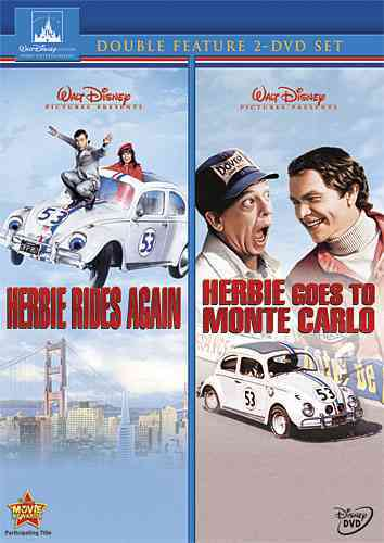HERBIE RIDES AGAIN/HERBIE GOES TO MON BY HAYES,HELEN (DVD)