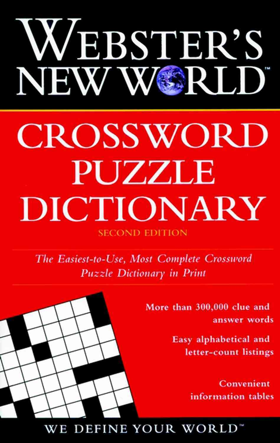Webster's New World Crossword Puzzle Dictionary By Whitfield, Jane Shaw